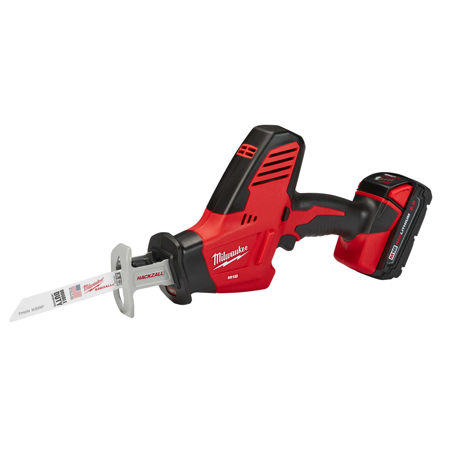 Milwaukee  M18 HACKZALL  Cordless  3/4 in. Reciprocating Saw  Kit 18 volt 3000 spm