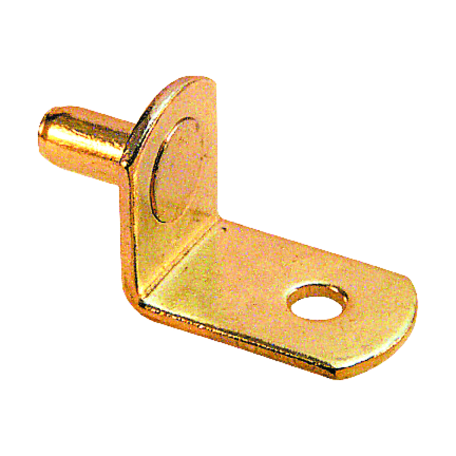 Prime-Line  Brass-Plated  Steel  5 mm Ga. Shelf Support Peg  4.813 in. H x 1.875 in. W x 1.00 in. L