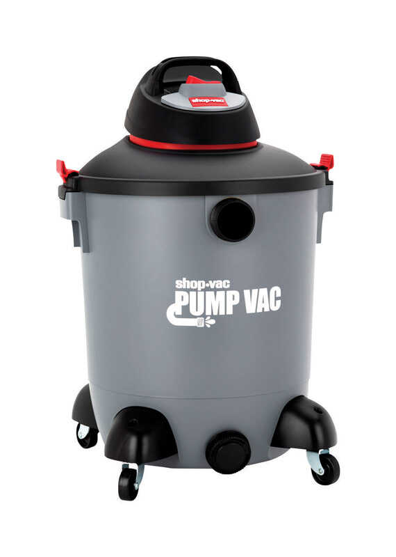 Shop-Vac  Pump Vac  14 gal. Corded  Wet/Dry Pump Utility Vacuum  6 hp 110 volts Gray  27 lb. 1 pc.