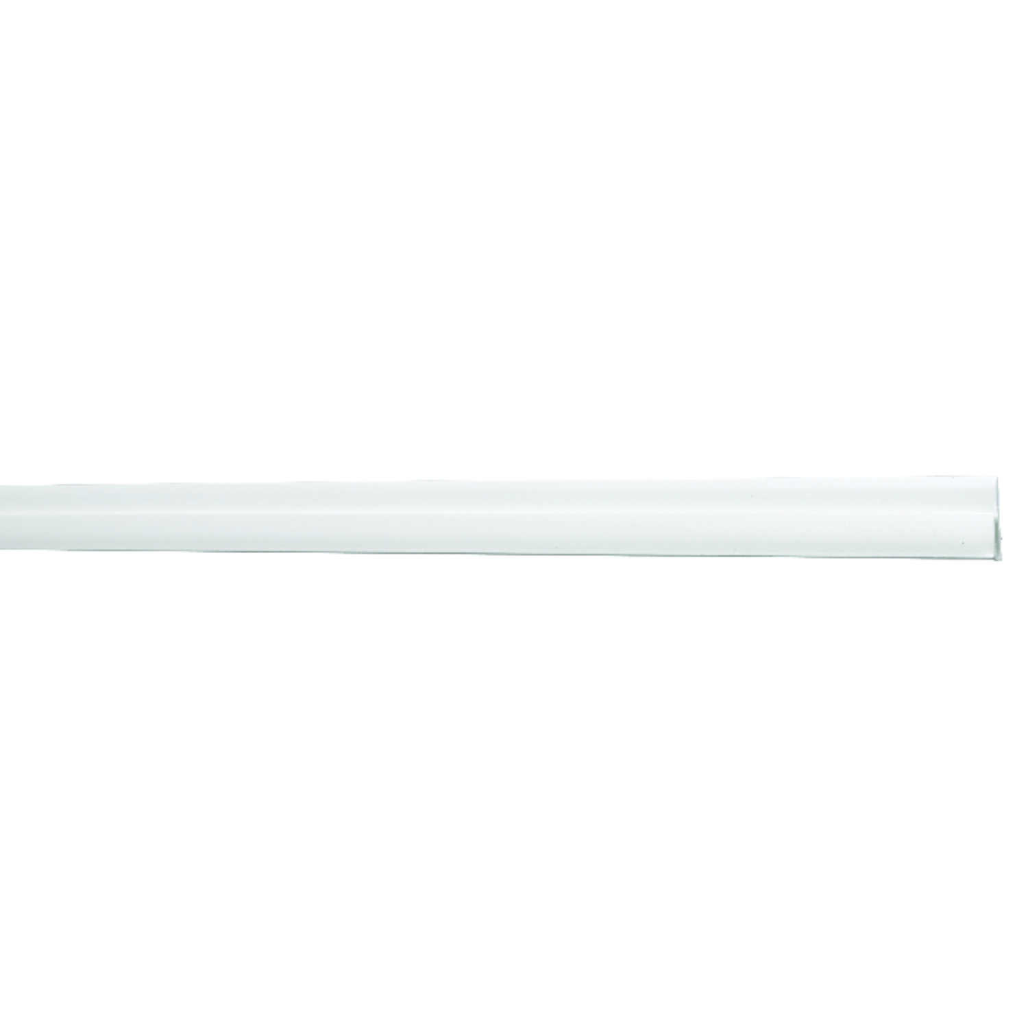 Sequentia  Crane Composites  .865 in.  x 96 ft. L Prefinished  White  Molding  Polypropylene