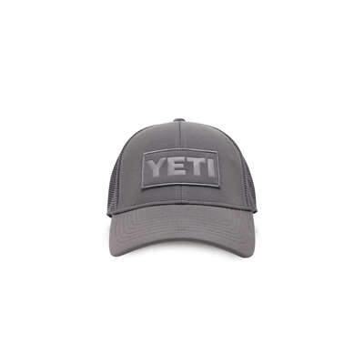 YETI  Trucker Hat  Gray  One Size Fits All