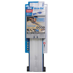Kreg Accu-Cut Aluminum 50 in. L Saw Guide Blue/Silver 1 pc.