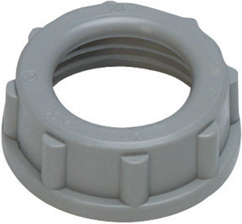 Sigma Insulating Bushing Rigid Threaded 1/2 in. UL/CSA Used on the End of Rigid and IMC Conduits an