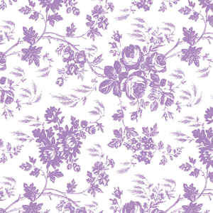 Con-Tact  Creative Covering  9 ft. L x 18 in. W Toile Lavender  Self-Adhesive  Shelf Liner