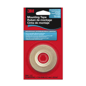 3M  Clear  Indoor  Shrink Film Mounting Tape  1/2 in. W x 500 in. L