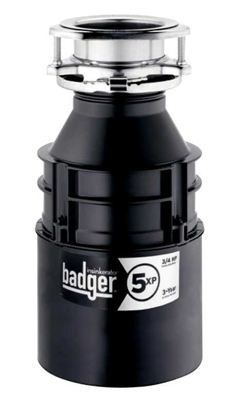 InSinkErator  Garbage Disposal  3/4 hp Black