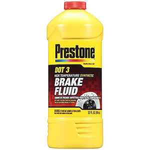 Prestone  DOT 3  Brake Fluid  32 oz.