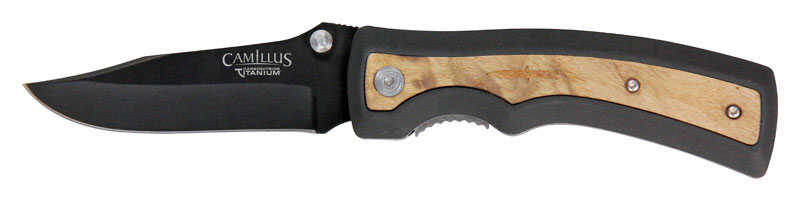 Camillus  Slick  Brown  AUS-8 Steel  8 in. Knife