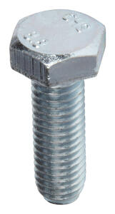 Hillman  M8-1.25 mm Dia. x 25 mm L Heat Treated  Steel  Hex Head Cap Screw  50 pk