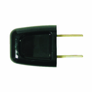 Pass & Seymour  Commercial and Residential  Thermoplastic  Non-Polarized  Plug  1-15P  18-2 AWG 2 Wi