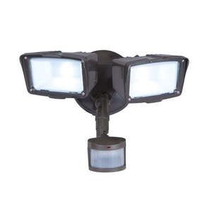 All-Pro  Motion-Sensing  Hardwired  Bronze  Security Light
