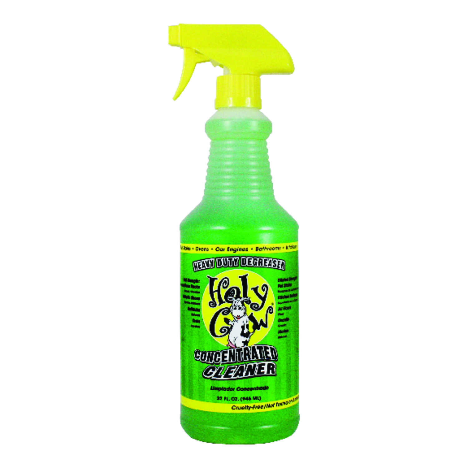 Holy Cow  Fresh Scent Heavy Duty Degreaser  32 oz. Liquid