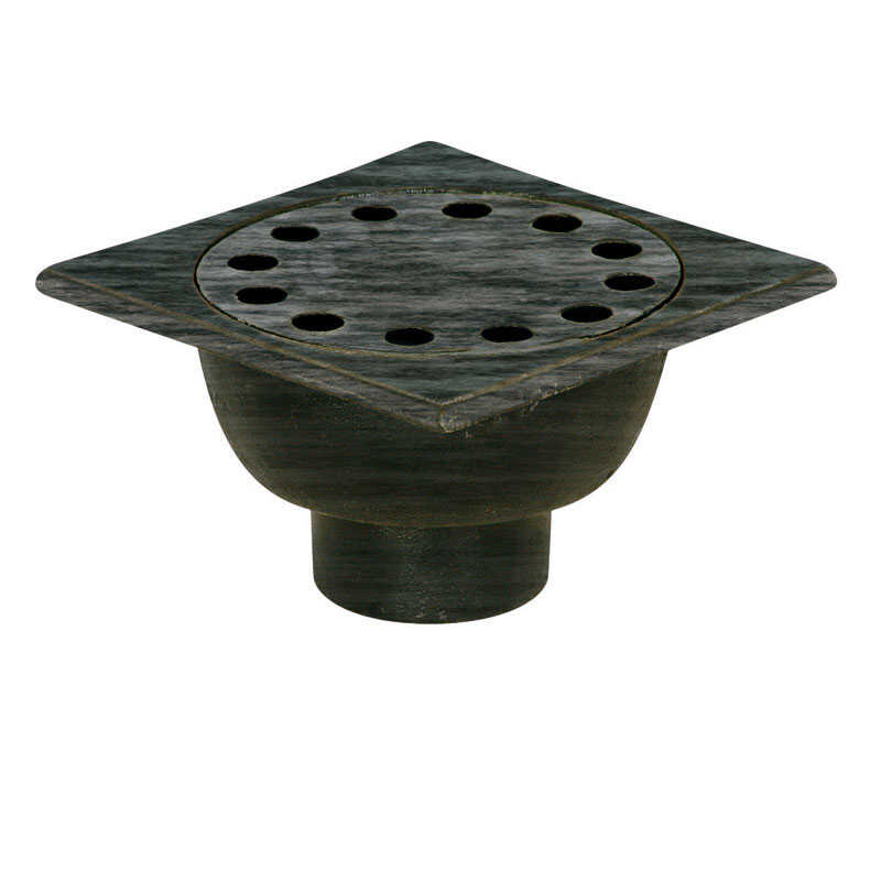 Sioux Chief  3 in. Dia. Metal  Bell Trap Drain