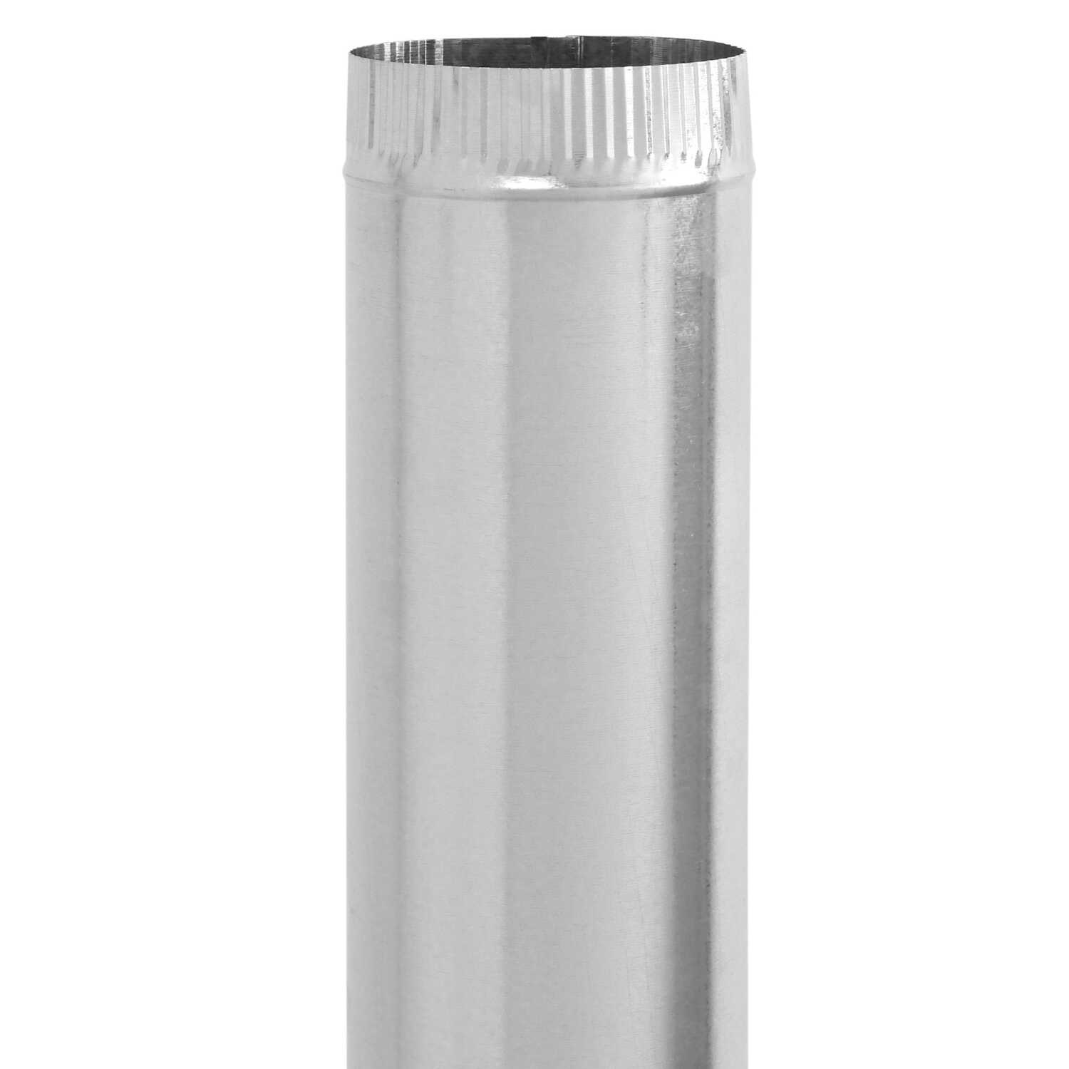 Imperial Manufacturing  6 in. Dia. x 24 in. L Galvanized Steel  Vent Pipe
