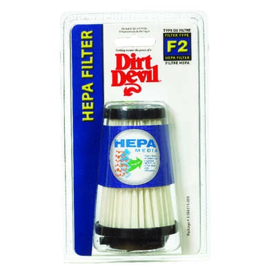 Dirt Devil  Vacuum Filter  For For use in dynamite quick vacuum 1 pk