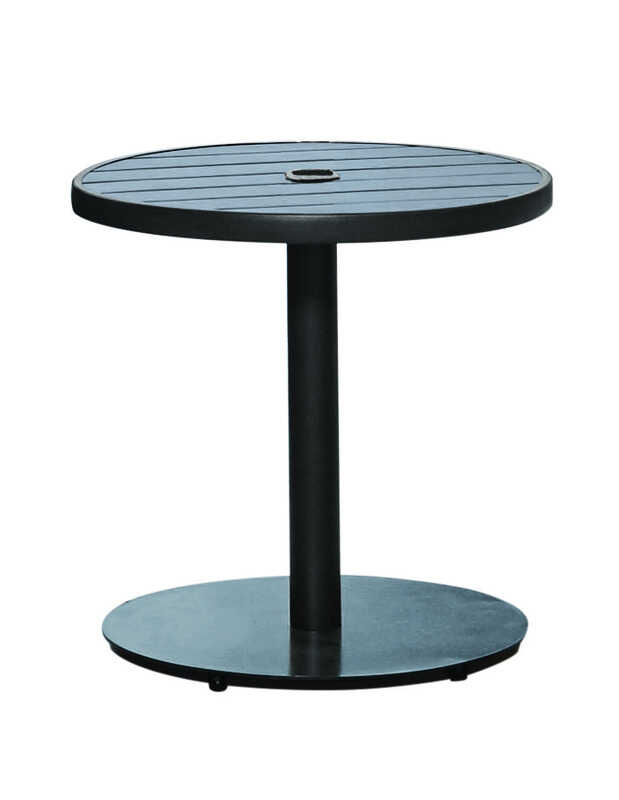 Living Accents  Brown  Steel  22 in. W x 18 in. H Umbrella Base