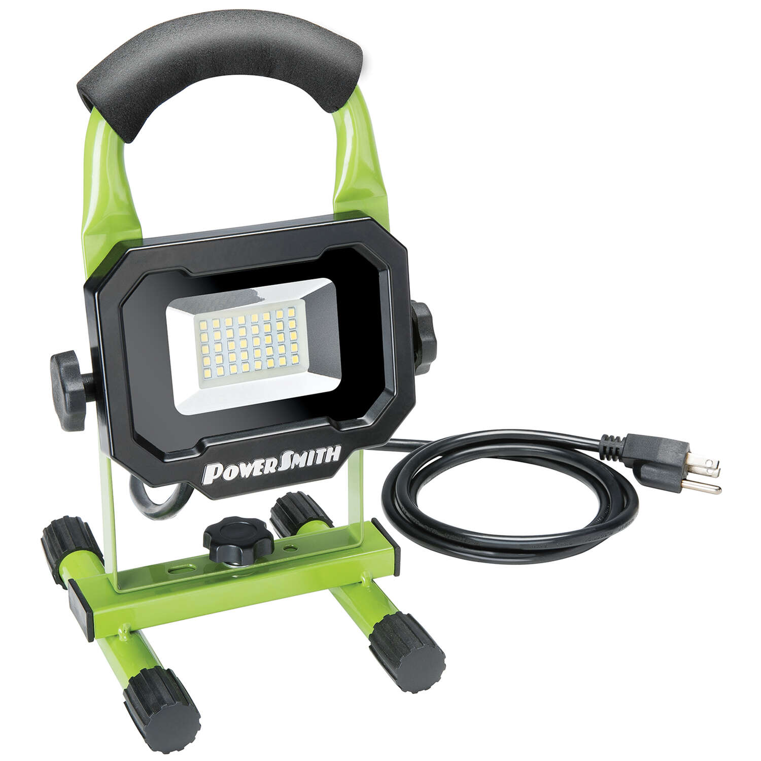 PowerSmith  1,800 lumens LED  Corded  Stand (H or Scissor)  Work Light