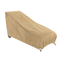 Classic Accessories  29 in. H x 28 in. W x 65 in. L Brown  Polyester  Chaise Lounge Cover