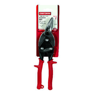 Craftsman  10 in. Stainless Steel  Left  Aviation Snips  18 Ga. 1 pk