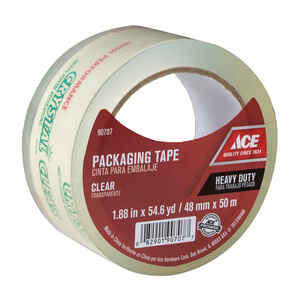 Ace  54.6 yd. L x 1.88 in. W Packaging Tape  Clear
