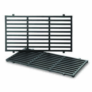 Weber  Cast Iron/Porcelain  Grill Cooking Grate  0.5 in. H x 10.2 in. W x 17.5 in. L