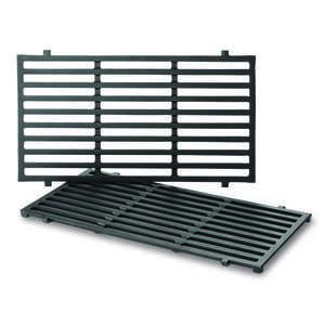 Weber  Cast Iron/Porcelain  Grill Cooking Grate  0.5 in. H x 17.5 in. L x 10.2 in. W