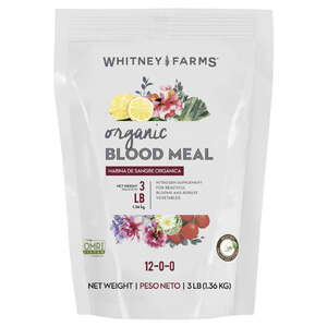 Whitney Farms  Blood Meal  Granules  Organic Plant Food  3 lb.