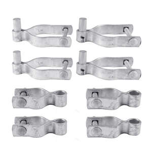 YardGard  6.69 in. L Galvanized  Steel  Drive Gate Hardware Set  6 pk