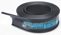 Master Mark  Master Gardener  20 ft. L x 6 in. H Plastic  Black  Lawn Edging