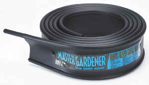 Master Mark  20 ft. L x 6 in. H Plastic  Lawn Edging  Black