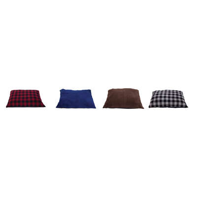 Aspen Pet  Assorted  Polyester  Pet Bed  6 in. H x 40 in. W x 29 in. L
