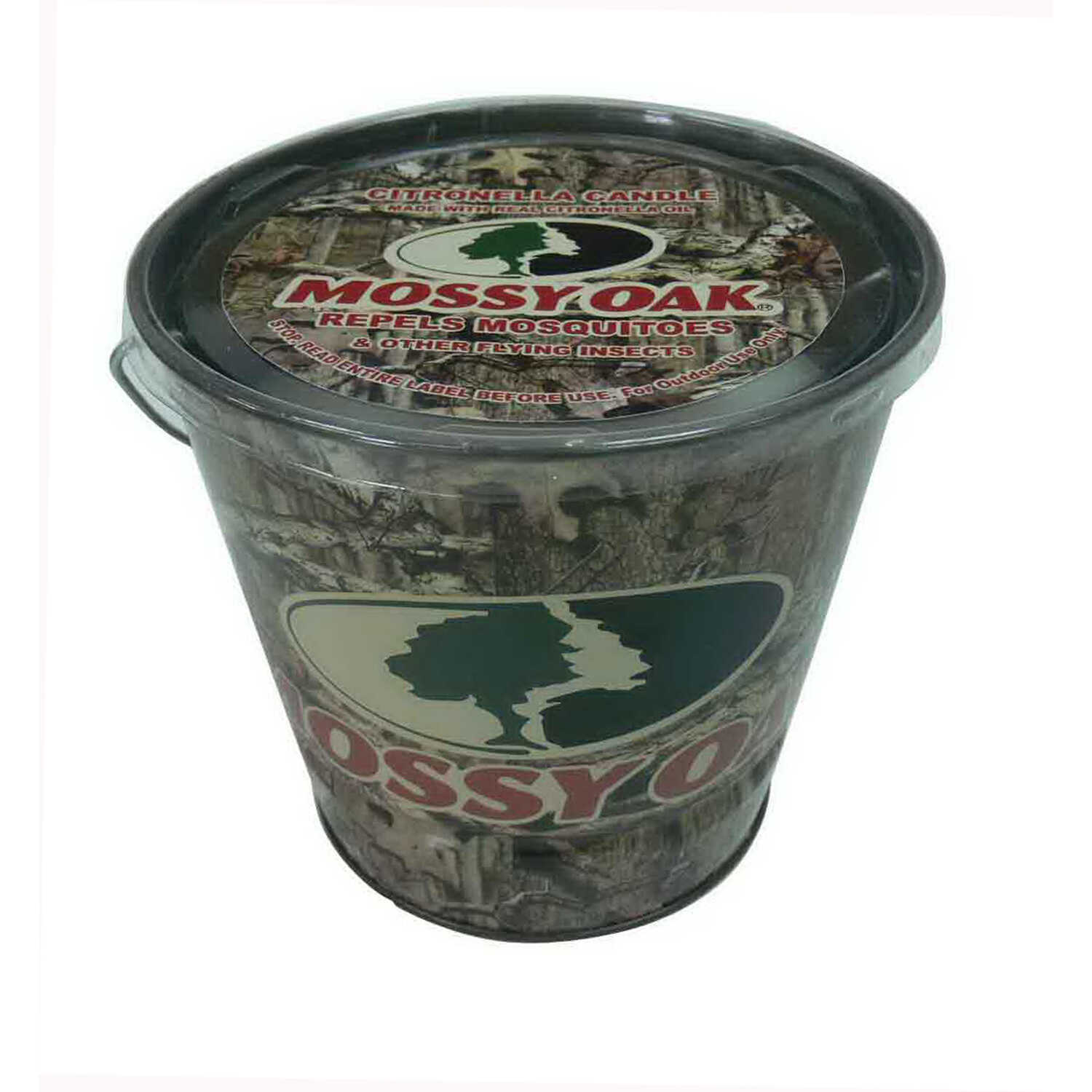 Mossy Oak  Candle Bucket  Candle  For Mosquitoes/Other Flying Insects 16 oz.