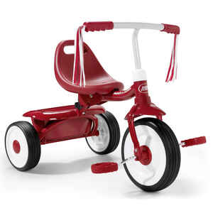 Radio Flyer  Unisex  8.5 in. Dia. Tricycle  Red