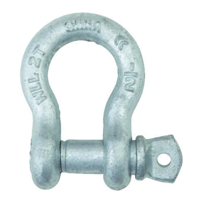 Campbell Chain  Galvanized  Forged Steel  Anchor Shackle  2 ton