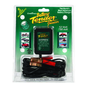 Battery Tender  Junior  Automatic  12 volt 750 mA Battery Charger