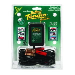 Battery Tender  Junior  Automatic  12 volts Battery Charger  750 mA
