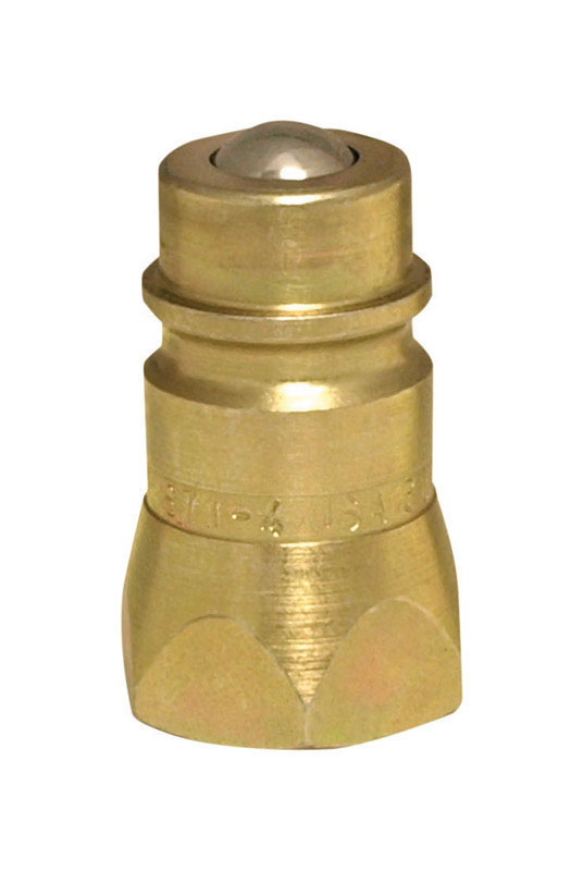 Universal  Steel  Hydraulic Coupler  1/2 in. Dia. x 1/2 in. Dia. 1