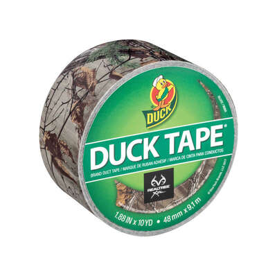 Duck  1.88 in. W x 10 yd. L Multicolored  Camouflage  Duct Tape