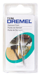 Dremel  1/8 in. Dia. x 5/64 in. L Diamond Coated  Wheel Point  Conical  35000 rpm 1 pc.