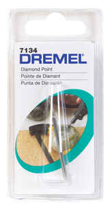 Dremel  1/8 in. Dia. x 5/64 in. L Diamond Coated  Wheel Point  Conical  1 pc. 35000 rpm
