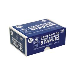 Easy Gardener  1-1/2 in. W x 4-1/2 in. L Garden  11 Ga. Staples  100 pk