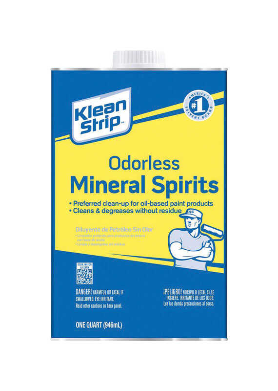 Klean Strip  Mineral Spirits  1 qt.