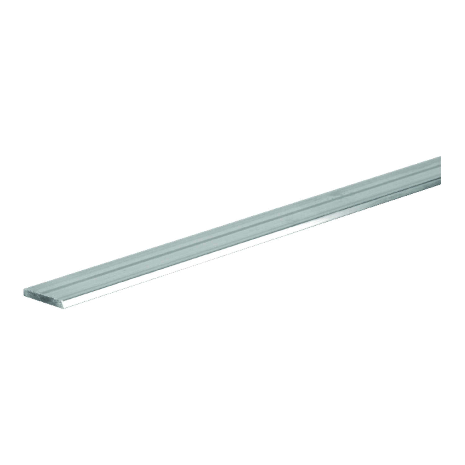 Boltmaster  0.125 in.  x 1.5 in. W x 4 ft. L Weldable Aluminum Flat Bar  1 pk