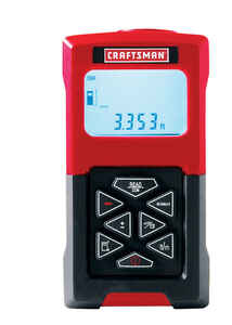 Craftsman  Accutrac Laser Measuring Tool  100 ft. 1 pc.
