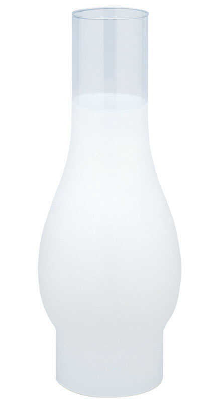 Westinghouse  White  Glass  Chimney Glass  1 pk