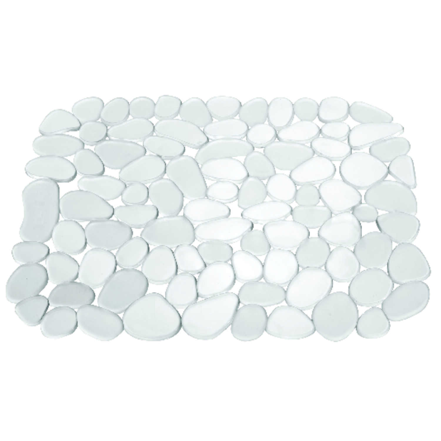 InterDesign  10.8 in. H x 10.8 in. W x 12.3 in. L Sink Mat  Plastic  Clear