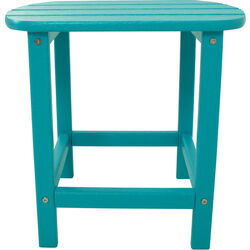 Hanover  Square  Blue  All Weather Collection  Side Table