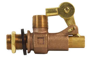 B & K  Bronze  Float valve