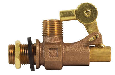 BK Products  ProLine  1/2 in. Dia. x 1/2 in. Dia. Bronze  Float Valve