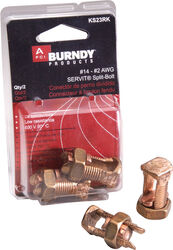 Burndy  Servit  Split Bolt Connector  2 pk